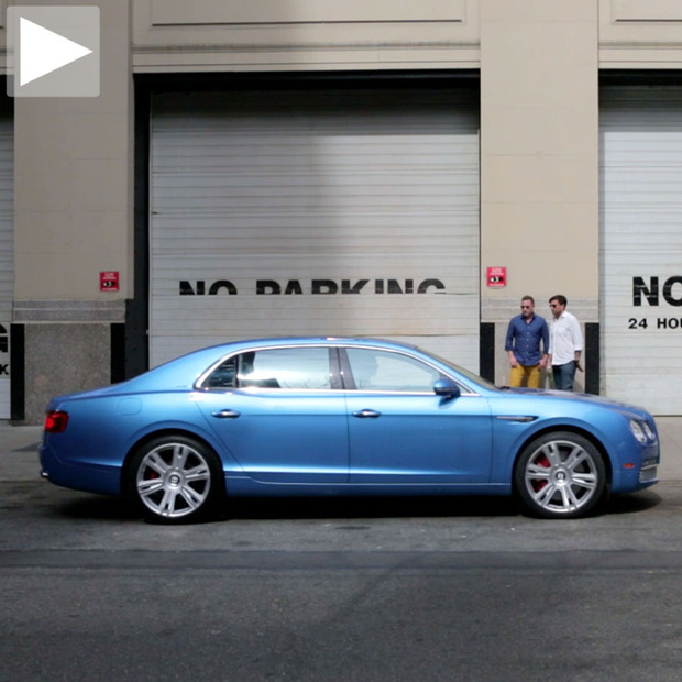 Cool Hunting Video: Creating a Bentley Flying Spur