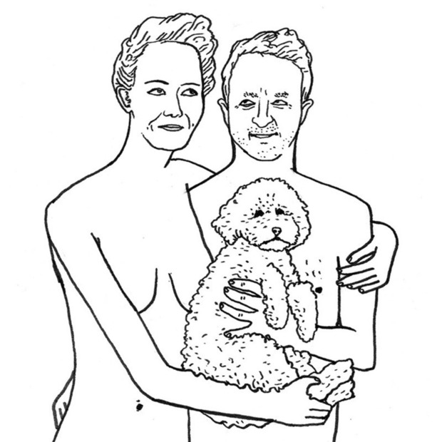 Real Fake Nudes: Custom Illustrations by Ben Hammond
