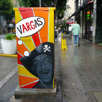 Robert Vargas Paints the Faces of Downtown LA