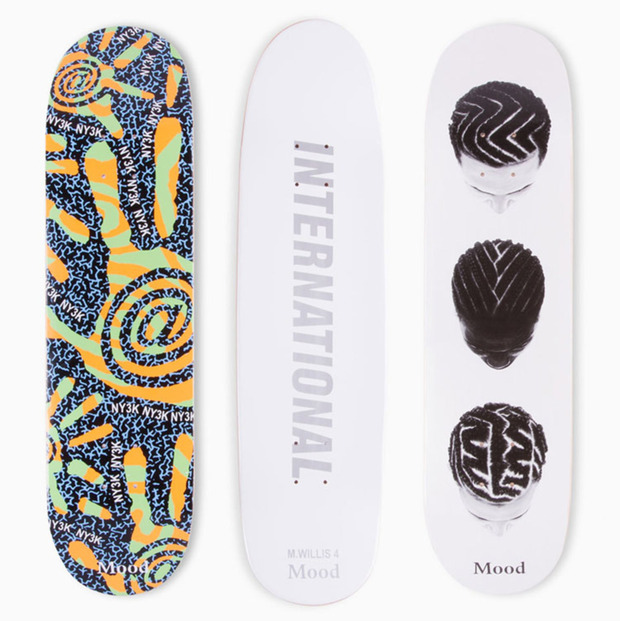 Graphic Artist Michael Willis for Mood Skateboards