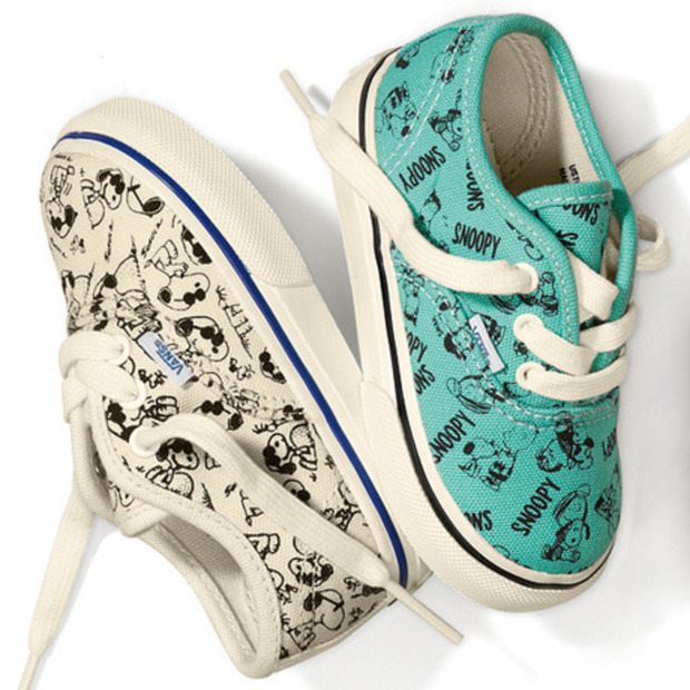 Rare '80s Vans + Peanuts Collection Reissued
