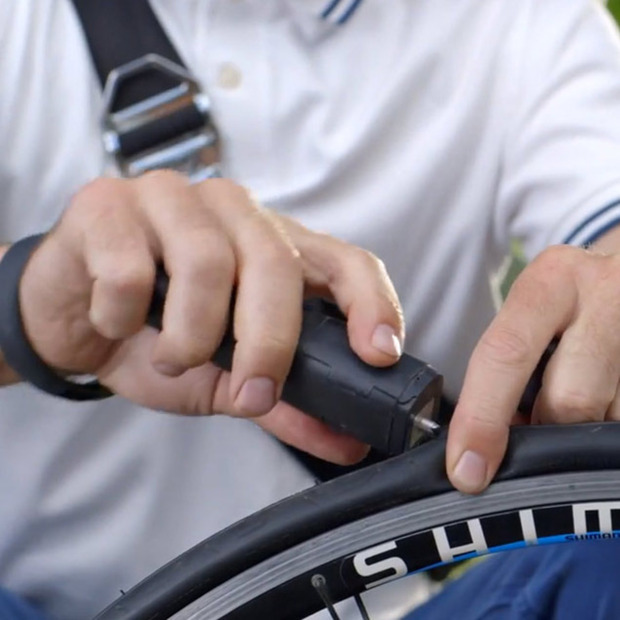 Fast Tire Repairs with Patchnride