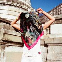 Massif Central's Art Scarves