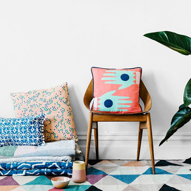 Colorful Textiles by Arro Home: Bold patterns and playful prints for every room by this new Australian label