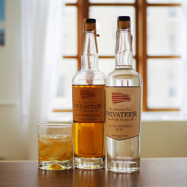 Massachusetts-Made Privateer Rum