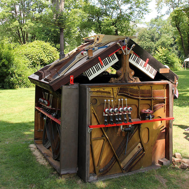 In the Garden of Sonic Delights, Katonah: Caramoor goes out of its comfort zone to host a series of new outdoor sound art installations
