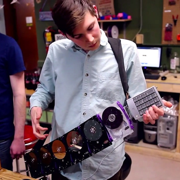Electric Waste Orchestra: Creating unconventional musical instruments from outdated computer parts and other e-waste