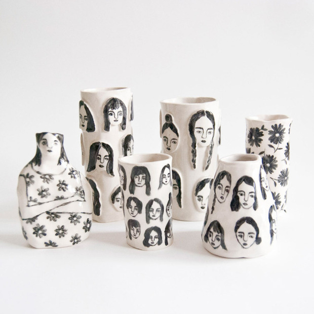 One-Off Ceramics by Leah Reena Goren