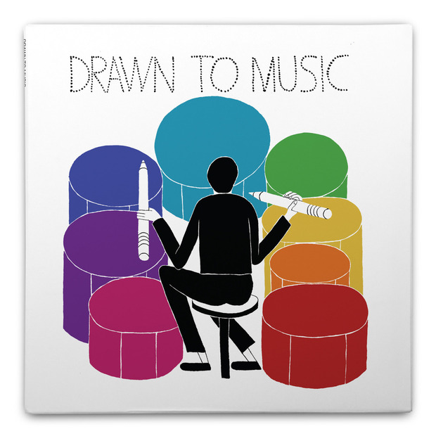 Drawn To Music Sketchpad: Create your own album art while singing along to your favorite tunes