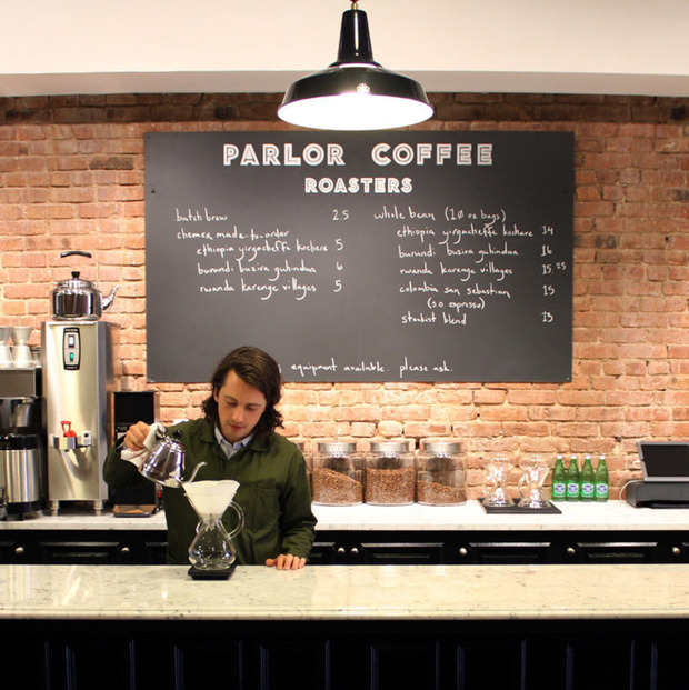 Parlor Coffee Roastery and Tasting Room: The upstart roaster's new Brooklyn Navy Yard digs cut the noise to deliver the goods
