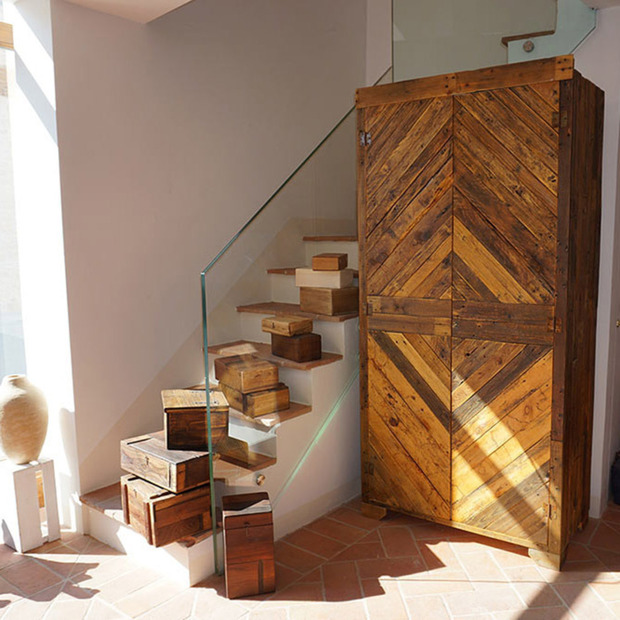 Castelfalfi's Picchio Reale Project, Tuscany: Inside the expansive Italian estate, a shop where designers rework discarded and natural materials
