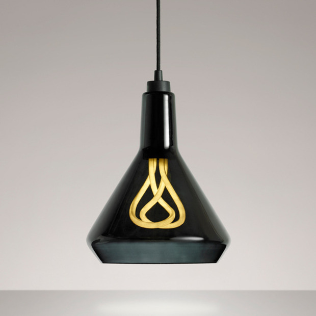 Plumen Drop Top Lamp Shade: The innovative lighting brand introduces their first shade design, made of mouth-blown glass