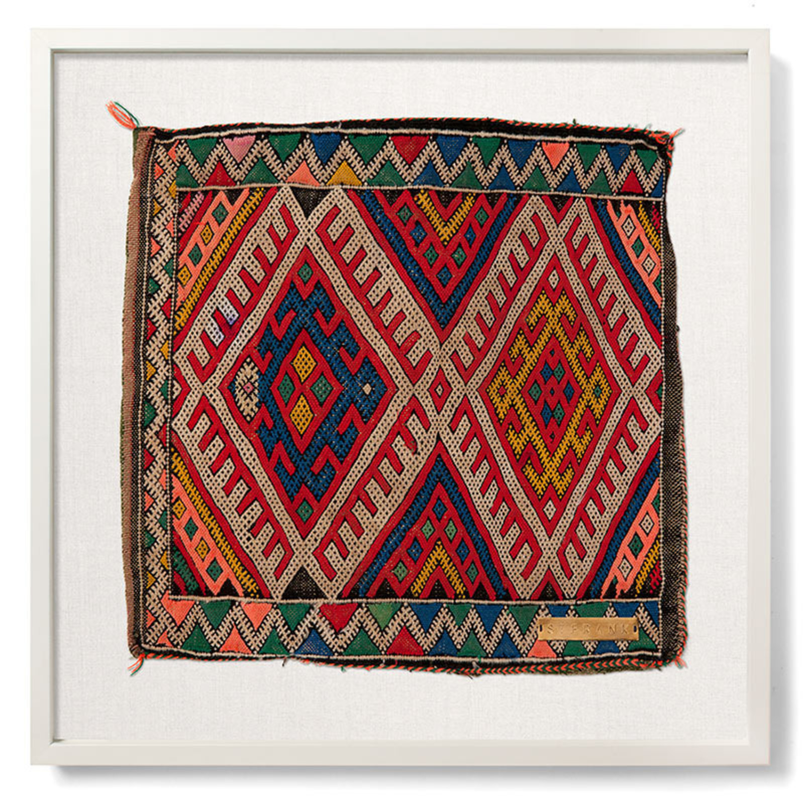 Framed Textile Art From St Frank Cool Hunting