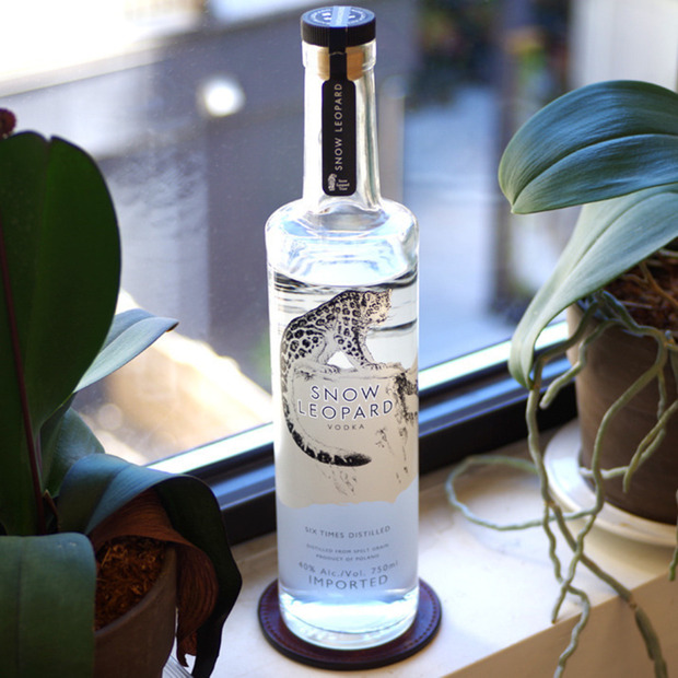Socially Conscious Snow Leopard Vodka