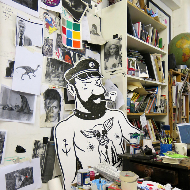 Studio Visit: Neal Fox