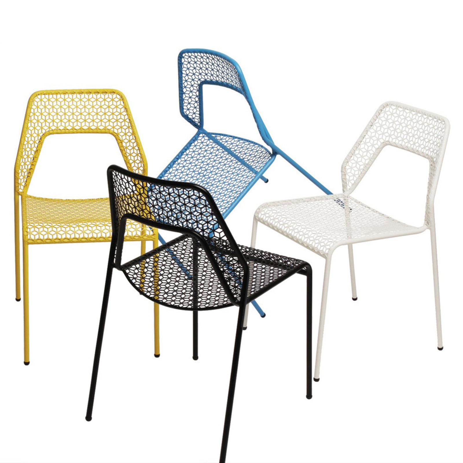 Blu dot 39 s hot mesh collection cool hunting - Chaises design couleur ...