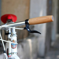 Wooden Bicycle Grips from Nisnas Industries