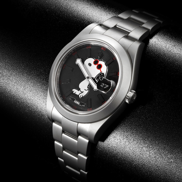 Snoopy + Bamford Watch Department Rolex