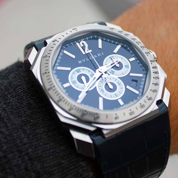 Bulgari Octo Maserati Chronograph: Two iconic brands celebrate their respective anniversaries with a luxe collaboration