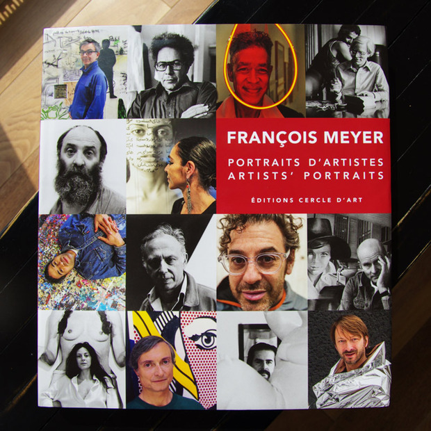 François Meyer's Portraits D'Artistes: A photography book intimately documenting over 120 artists and their work over the last 40 years