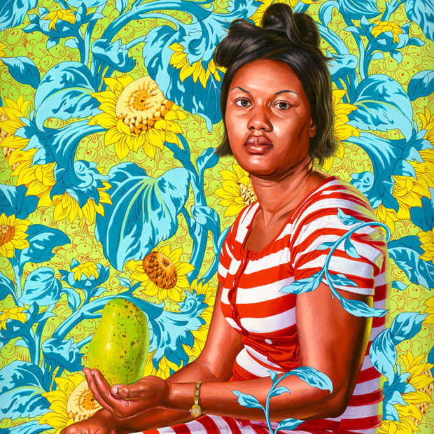 Kehinde Wiley Paints