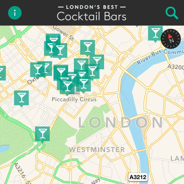 London's Best Cocktail Bars App