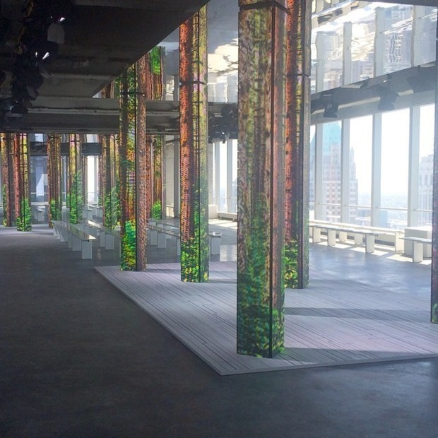 Scene, by All: Set Design at NYFW S/S15: Stunning displays rival for attention at this season's bevy of runway shows