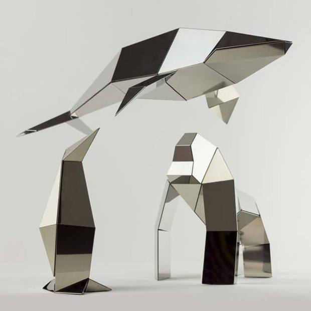 Poligon Foldable Sculptures