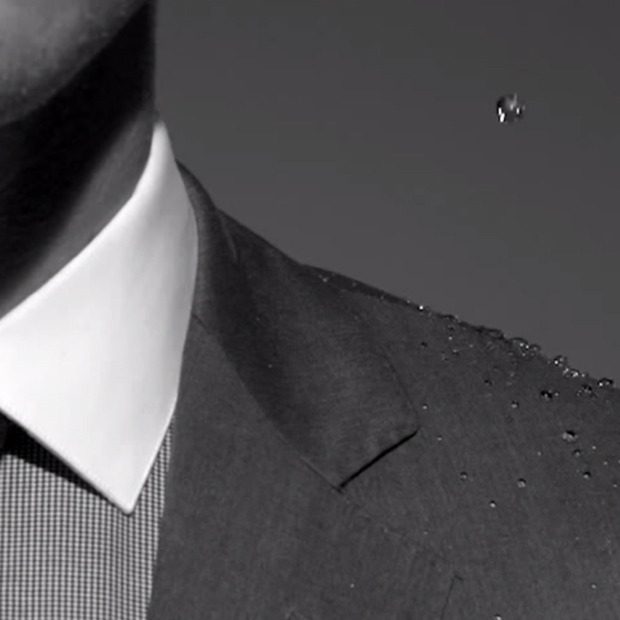 Samuelsohn Performance Weatherproof Suits: Rain-repellent fabrics get a classic cut in the brand's new line