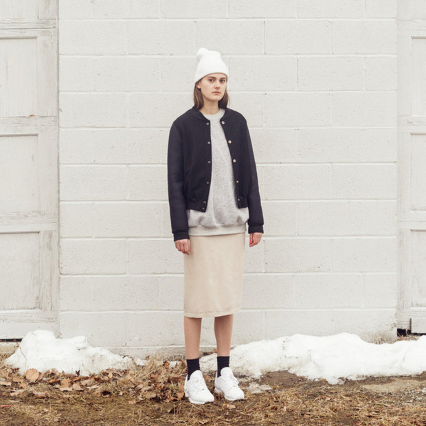 "Sködia's Stylishly Cozy Sweats: Introducing ""softwear"" made from materials like terry cloth, sweats and wool"