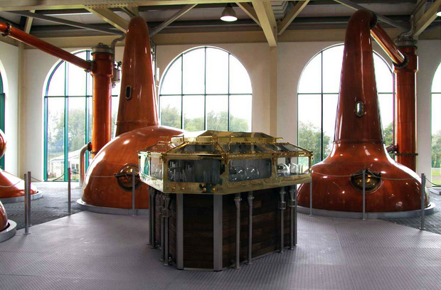 "Tullamore D.E.W.'s New State-of-the-Art Distillery: The first new ""from the ground up"" distillery in Ireland in over 100 years"