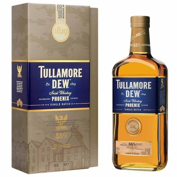 Tullamore D.E.W.'s Limited Edition Celebratory Phoenix Whiskey: A splendid single batch made in an edition of just 2014 bottles