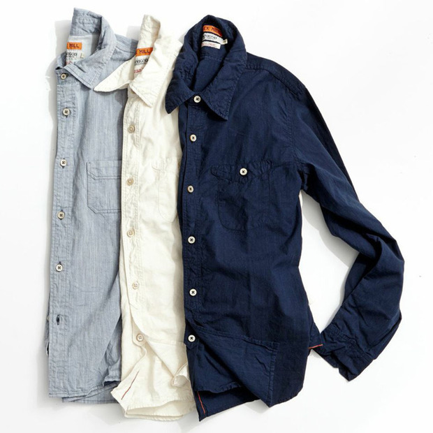 Alex Mill x OMNIGOD: Timeless Workshirts in Japanese Denim