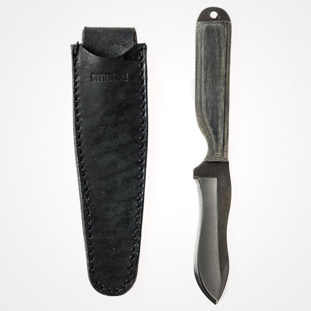 Carbon Steel Utility Knives from Civilware