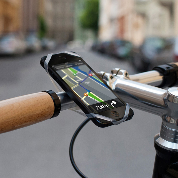 Finn: The Universal Smartphone Bike Mount