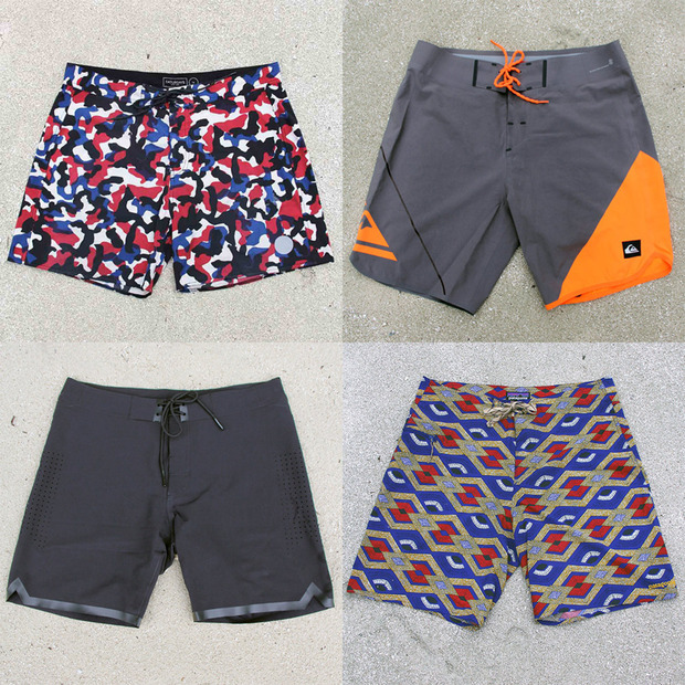 Four Technical Boardshorts