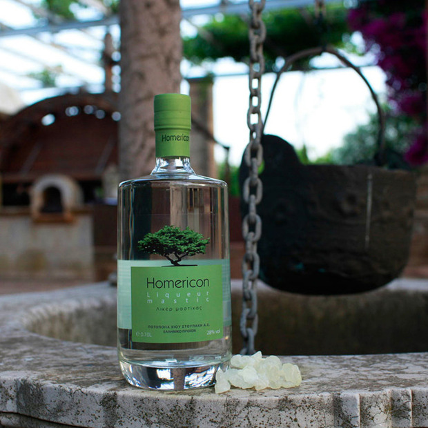 Stoupakis Chios Homeric Mastiha Liqueur: A refreshing aperitif distilled on the only island where its source tree is located