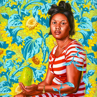 "Kehinde Wiley Paints ""The World Stage: Haiti"""