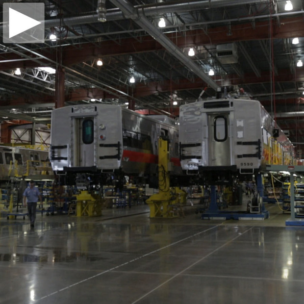 CHV: Kawasaki Railcar Manufacturing Facility: From the MTA to the DC Metro, many of the USA's transit systems have their rail cars built in the heartland
