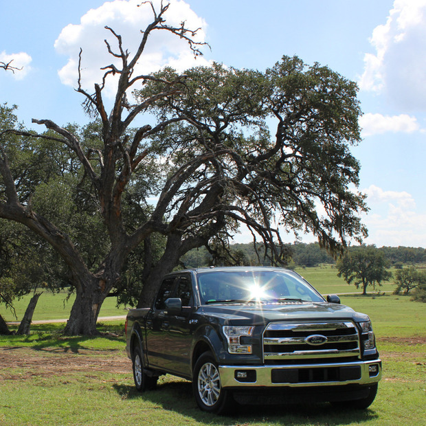 Test Drive: All-New 2015 Ford F-150: We take the all-around impressive aluminum truck for an on- and off-road ride through the heart of Texas