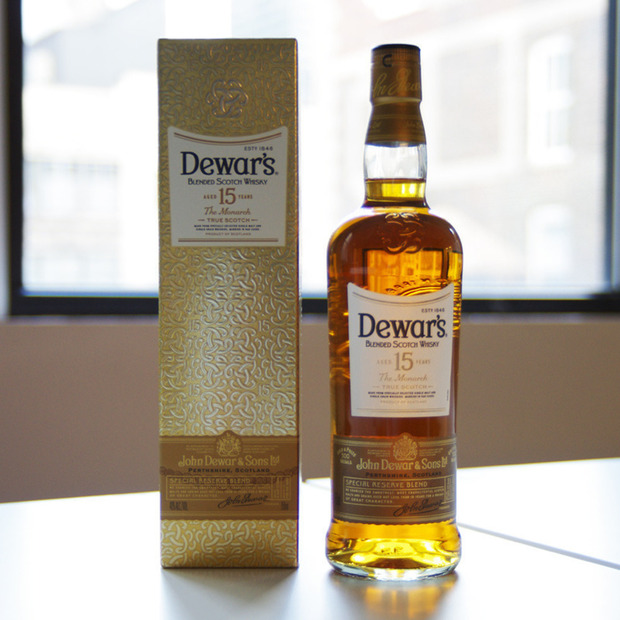 Dewar's Limited Edition 15 Year Old: Honey and toffee unite for a special blended whisky aged release