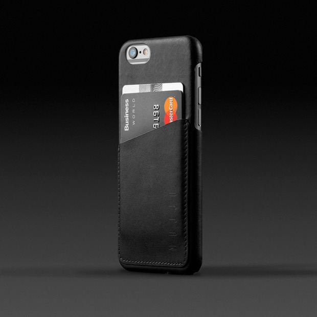 Mujjo Leather Wallet Case for iPhone 6: A slender, refined accessory for carrying the must-haves