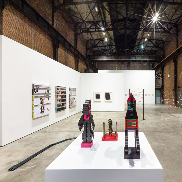Puddle, Pothole, Portal at SculptureCenter: An engaging group exhibition ushering in the Long Island City institution's newly expanded and redesigned building