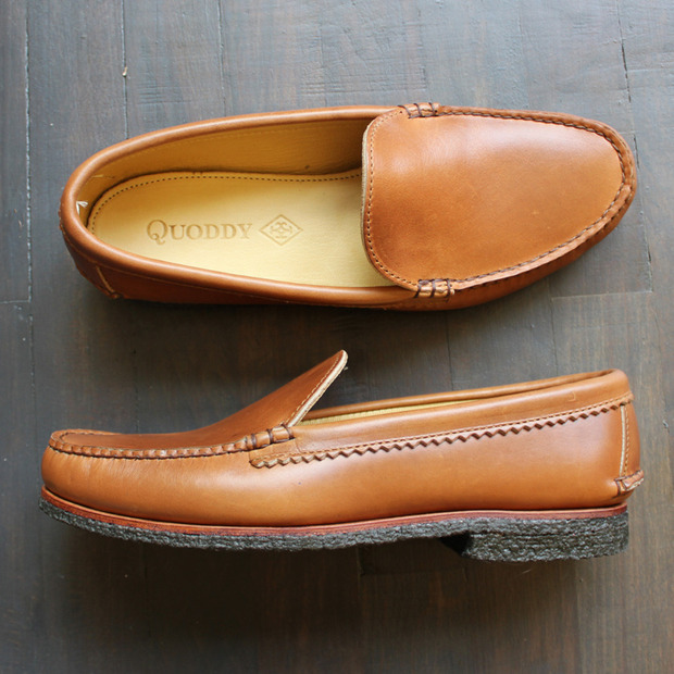 Quoddy Custom Shoe Service: The generations-old moccasin-makers now allow customers to order shoes detail by detail