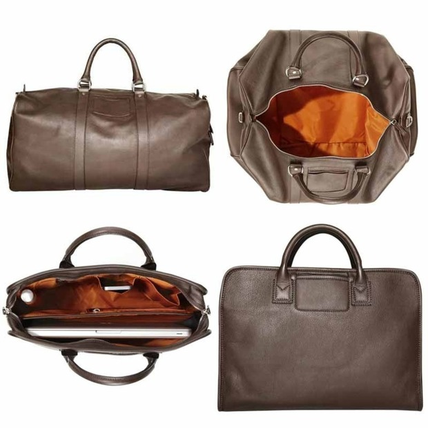 Travelteq Introduces the Moro Collection: Two beautiful travel pieces culled from vegetable-tanned leather in Tuscany