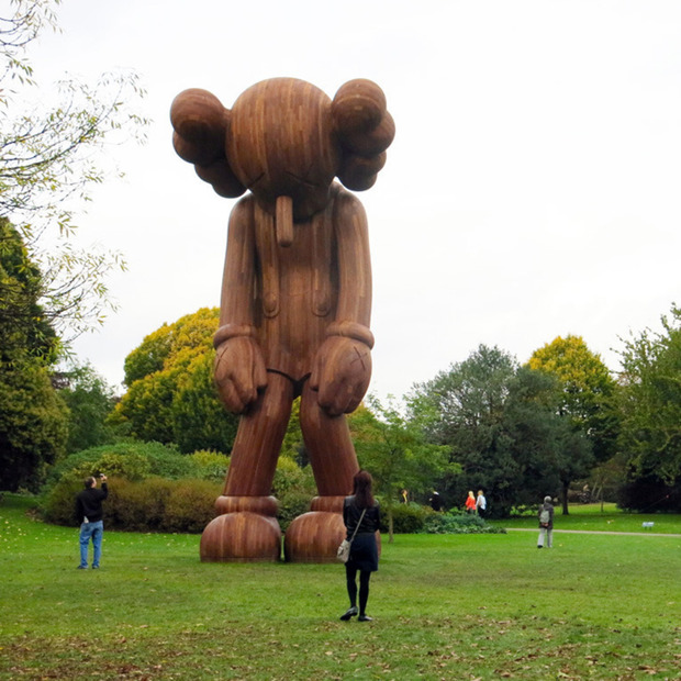 Highlights from Frieze London 2014: A towering wooden statue from KAWS, aluminum workwear, a psychedelic kids installation and more in our look at the globally renowned art fair