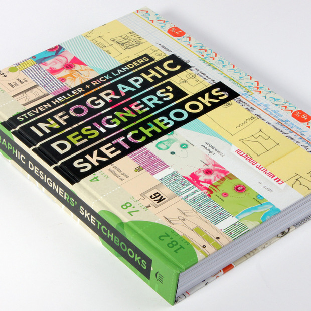 Infographic Designers' Sketchbooks: A rare look inside the process of data visualizations in this in-depth tome