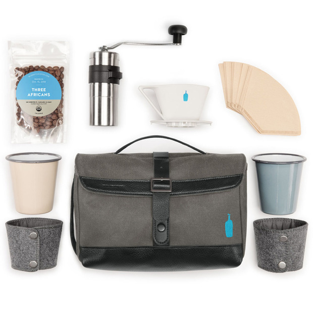 Timbuk2 + Blue Bottle Coffee: Travel Brew Kit: Craft the perfect cup wherever the road takes you