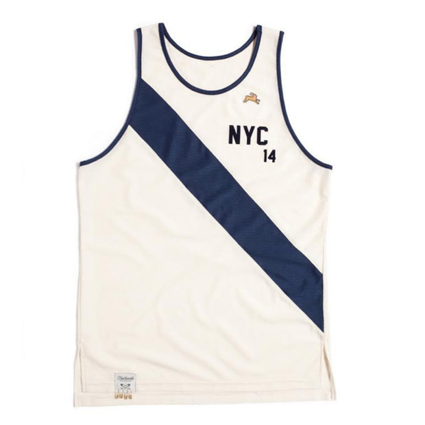 Tracksmith Marathon Singlets : Classically styled running singlets honoring two of the largest and oldest races in the US