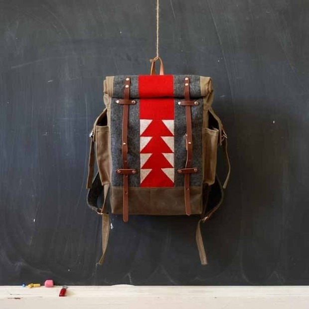 The Patchwork Backpack by Sketchbook